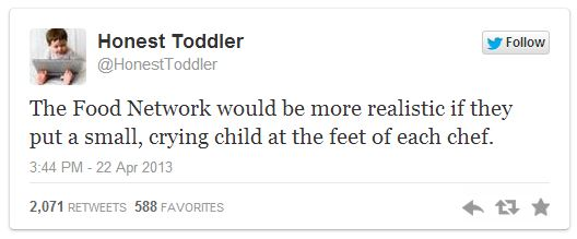 Honest Toddler Twitter